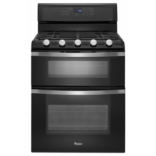 Whirlpool Gas Range 6.0 Total cu. ft. Freestanding Double Oven Gas Range with Convection Cooking