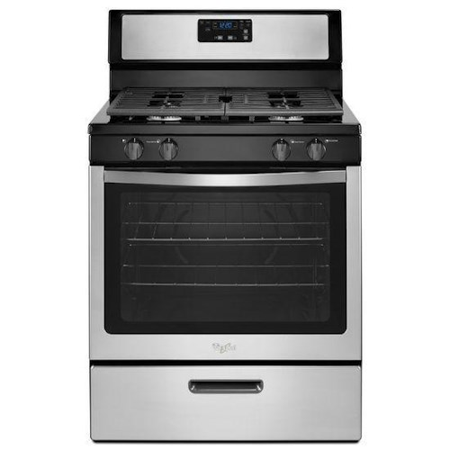 Whirlpool Gas Ranges 5.1 cu. ft. Freestanding Gas Range with Under-Oven Broiler