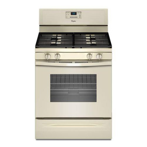 Whirlpool Gas Ranges 5.0 Cu. Ft. Freestanding Gas Range with AccuBake® Temperature Management System