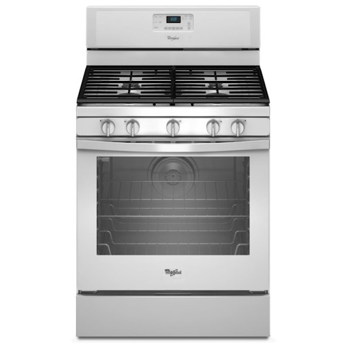 Whirlpool Gas Ranges 5.8 Cu. Ft. Freestanding Gas Range with Center Burner
