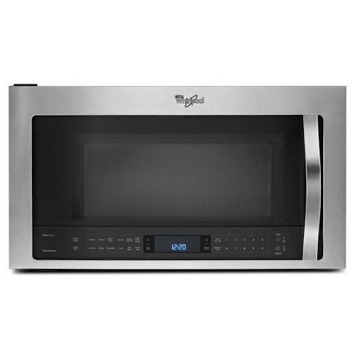 Whirlpool Microwaves - Whirlpool 1.9 cu. ft. Microwave Hood Combination with TimeSavor™ Plus True Convection