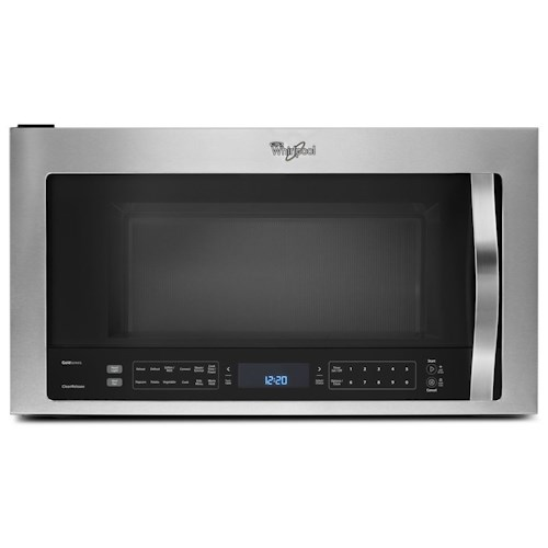 Whirlpool Microwaves - Whirlpool 1.9 cu. ft. Microwave Hood Combination with True Convection