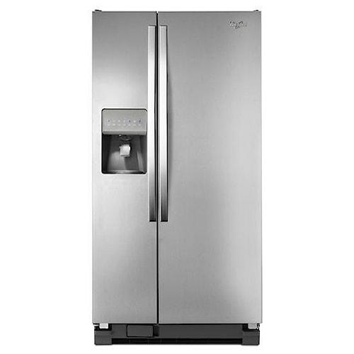 Whirlpool Side by Side Refrigerators 21 cu. ft. Side-by-Side Refrigerator with LED Lighting