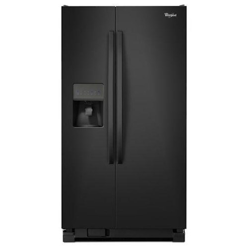 Whirlpool Side by Side Refrigerators ENERGY STAR® 25 cu. ft., 36-inch Side-by-Side Refrigerator with Water Dispenser