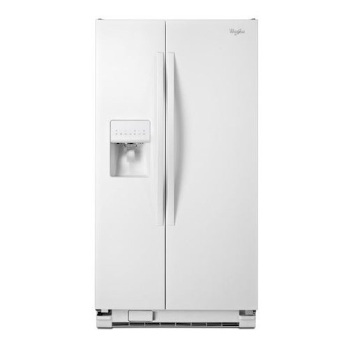 Whirlpool Side-By-Side Refrigerators 33-inch Wide Side-by-Side Refrigerator with Water Dispenser - 21 cu. ft.