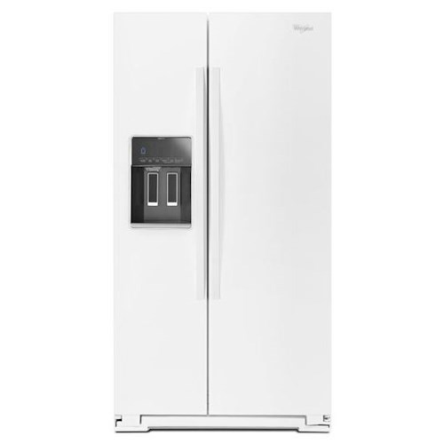 Whirlpool Side-By-Side Refrigerators 36-inch Wide Side-by-Side Refrigerator with Temperature Control - 26 cu. ft.