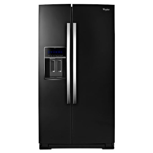 Whirlpool Side-By-Side Refrigerators 36-inch Wide Side-by-Side Counter Depth Refrigerator with StoreRight™ Dual Cooling System - 20 cu. ft.