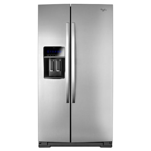 Whirlpool Side-By-Side Refrigerators 36-inch Wide Side-by-Side Refrigerator with StoreRight™ Dual Cooling System - 25 cu. ft.