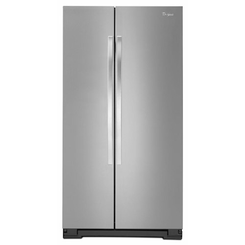 Whirlpool Side-By-Side Refrigerators 25 cu. ft. ENERGY STAR® Freestanding Side-by-Side Refrigerator