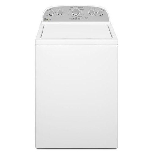 Whirlpool Top Load Washers 4.3 cu. ft. Cabrio® High-Efficiency Top Load Washer with Smooth Wave Stainless Steel