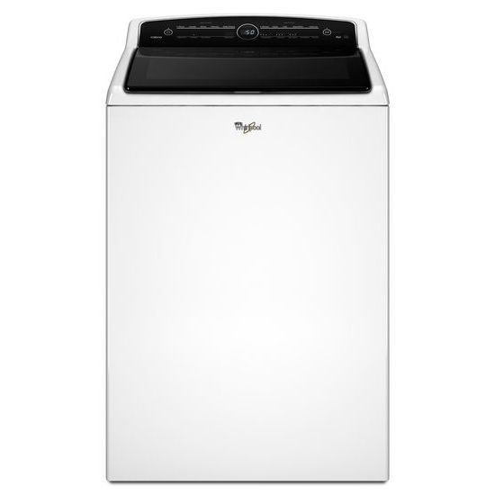 Whirlpool ENERGY STARu00ae 5.3 cu. ft. Cabriou00ae High-Efficiency Top Load Washer with Clean Boost ...