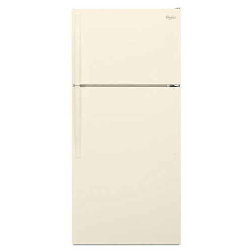 Whirlpool Top Mount Refrigerators 14 Cu. Ft. Top-Freezer Refrigerator with Optional Icemaker