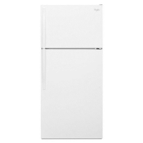 Whirlpool Top Mount Refrigerators 14 Cu. Ft. Top-Freezer Refrigerator with Optional Icemaker