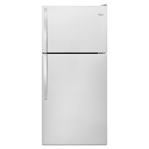 Whirlpool Top Mount Refrigerators 18 Cu. Ft. Top-Freezer Refrigerator with EZ Connect Icemaker Kit
