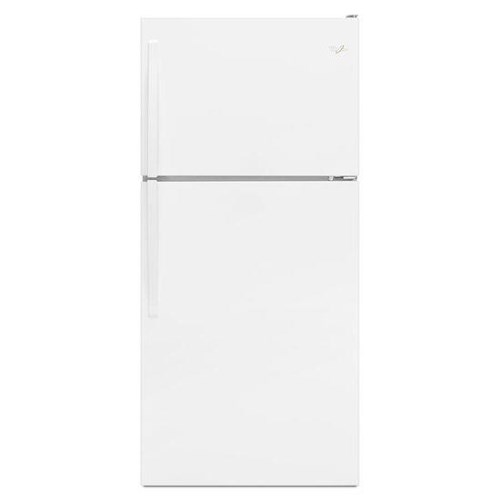 Whirlpool Top Mount Refrigerators 18 Cu. Ft. Top-Freezer Refrigerator with EZ Connect Icemaker Kit