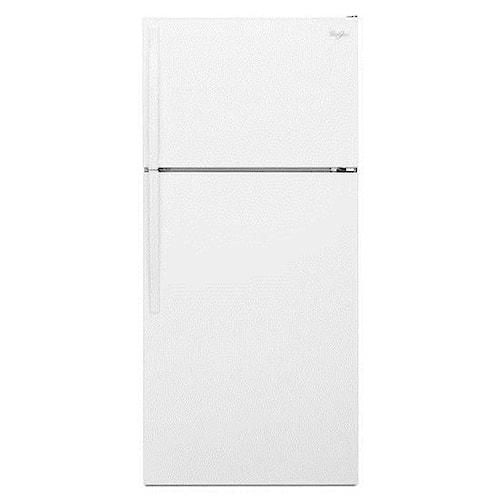 Whirlpool Top Mount Refrigerators 14 cu. ft. Energy Star® Top-Freezer Refrigerator with Freezer Temperature Control