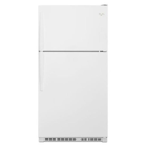 Whirlpool Top Mount Refrigerators 21 Cu. Ft. Top-Freezer Refrigerator with Optional EZ Connect Icemaker Kit