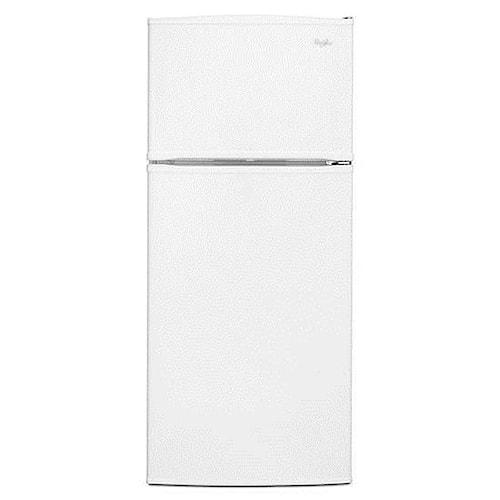 Whirlpool Top Mount Refrigerators 16 Cu. Ft. Top-Freezer Refrigerator with Flexi-Slide™ Bin