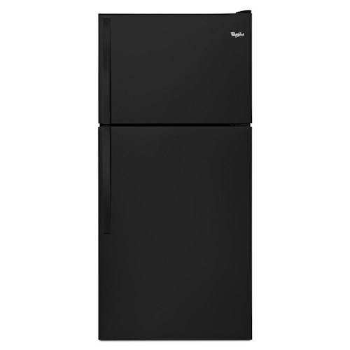 Whirlpool Top Mount Refrigerators 18 cu. ft., 30-Inch Top-Freezer Refrigerator with Factory-Installed Icemaker - 18 cu. ft.