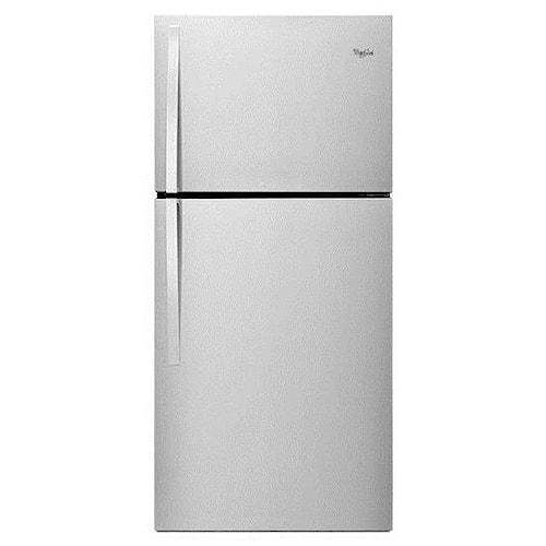 Whirlpool Top Mount Refrigerators 19.2 cu. ft., 30-Inch Top-Freezer Refrigerator with LED Interior Lighting
