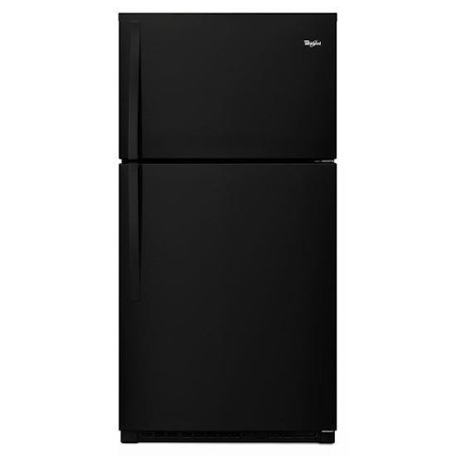 Whirlpool Top Mount Refrigerators Energy Star® 21.3 cu. ft., 33-Inch Wide Top-Freezer Refrigerator with Optional EZ Connect Icemaker Kit