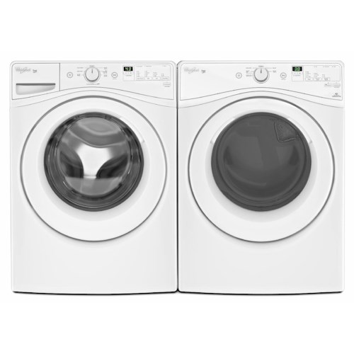 Whirlpool Washer and Dryer Sets 4.2 Cu. Ft. Duet HE Front Load Washer and 7.3 Cu. Ft. Electric Dryer