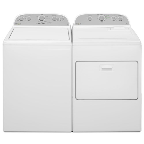 Whirlpool Washer and Dryer Sets 4.3 cu. ft. Cabrio® High-Efficiency Top Load Washer and 7.0 cu. ft. High-Efficiency Electric Dryer
