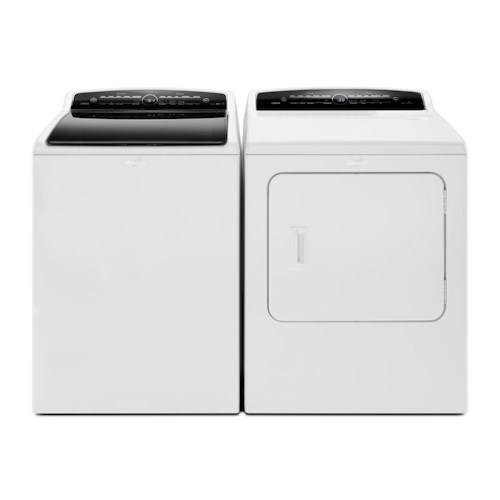 Whirlpool Washer and Dryer Sets 7.0 cu. ft. Cabrio® HE Electric Dryer and 4.8 cu. ft. Cabrio® HE Top Load Washer