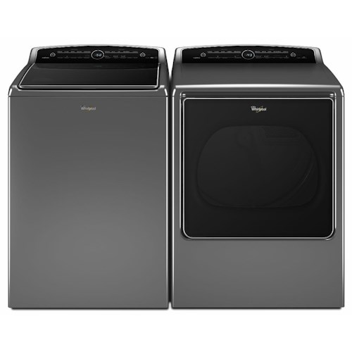 Whirlpool Washer and Dryer Sets 5.3 cu. ft. Cabrio® Top Load Washer