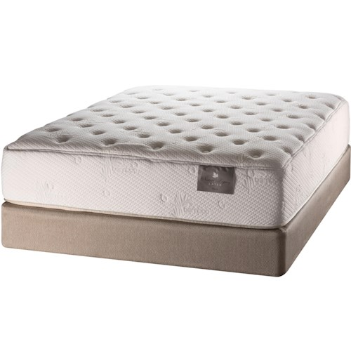 White Dove Mattress Natures Legacy Mattress Placid Full Plush Mattress and Foundation