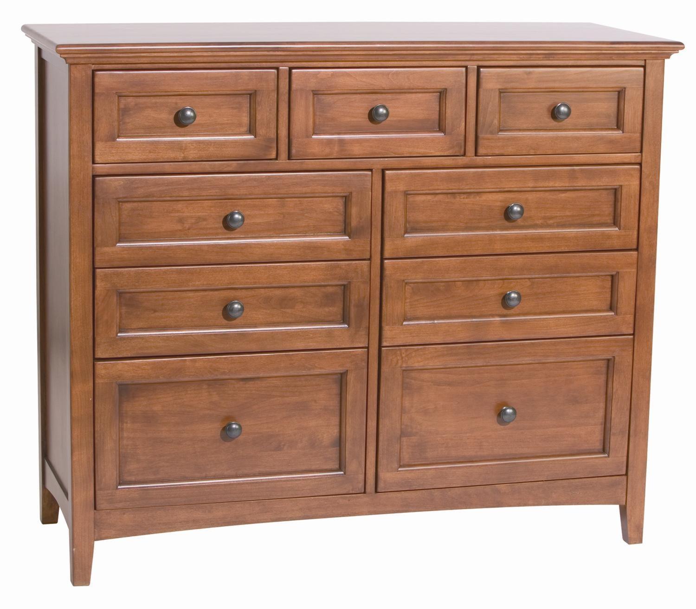 whittier wood mckenzie 9 drawer dresser darvin furniture