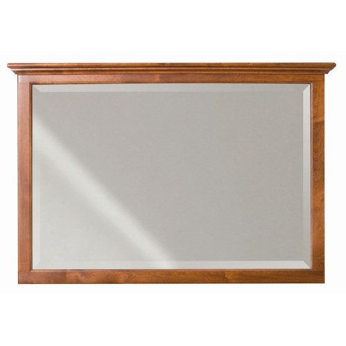 Whittier Wood McKenzie Beveled Mirror