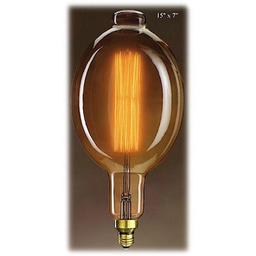 Will's Company Accents Grand Nostalgic Bulb - 15