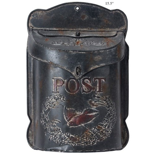 Will's Company Accents Vintage 'Post' Hanging Mailbox - 15.5