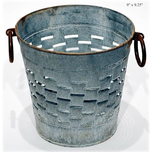Will's Company Accents Olive Bucket - 9