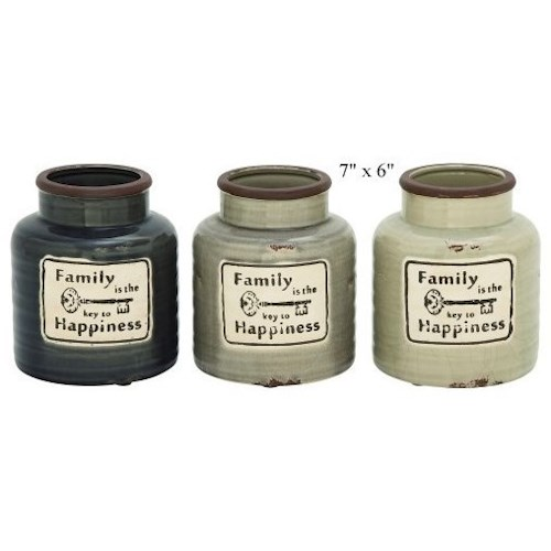 Will's Company Accents Family Jar/Vase - 7