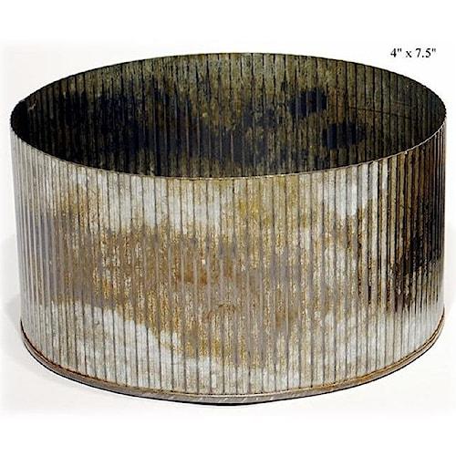 Will's Company Accents Galvanized Norah Bowl - 4