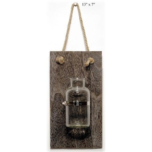 Will's Company Accents Industrial Jar Wall Hanger - 13