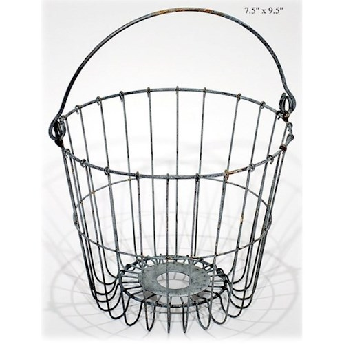Will's Company Accents Wire Pail - 9.5