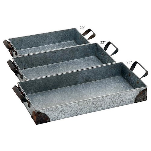 Will's Company Accents Set of 3 Trays - 20