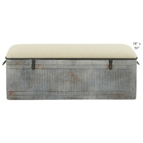 Will's Company Accents Bench w/Storage - 50