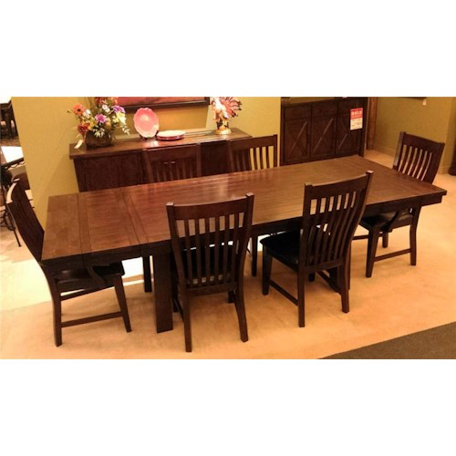 Winners Only Regis 7PC Dining Table & Chair Set
