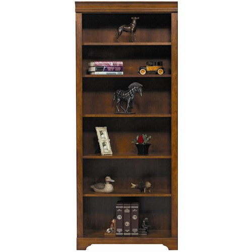 Winners Only Americana Cherry Cherry Bookcase with 6 Shelves
