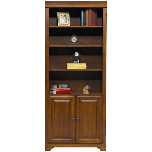 Winners Only Americana Cherry Cherry Bookcase with Doors