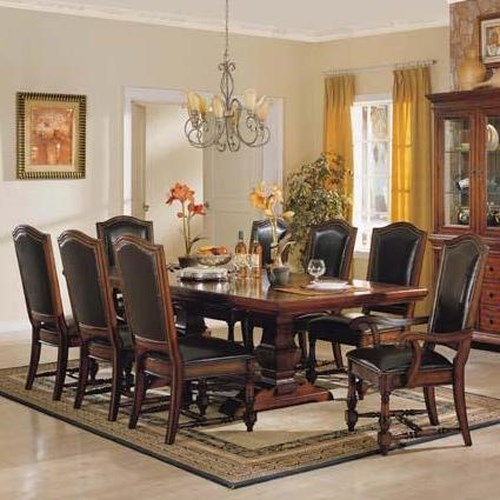 Winners Only Ashford 10 Piece Trestle Table and Chair Set