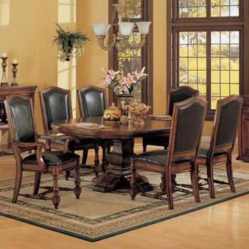 Winners Only Ashford 8 Piece Pedestal Table and Chair Set
