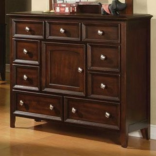 Winners Only Del Mar 9-Drawer, 1-Door Dresser