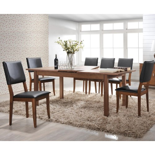 Winners Only Denmark 7 Piece Dining Set with 79