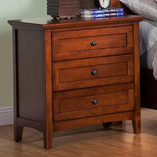 Winners Only Flagstaff 3 Drawer Nightstand