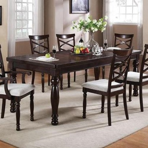 Winners Only Hamilton Park Rectangular Dining Table with Turned Legs